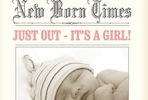 Baby Birth Announcements / Fresh, fun, highly original designs you can personalize with your photos