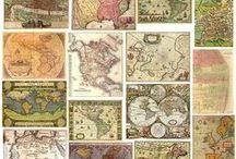 Map Your Way... / by Robin DeLong-Makin