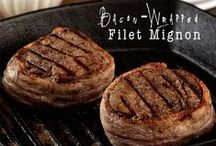MEAT - It's For Dinner! / Recipes featuring beef, pork, venison, bison, chicken, turkey, and other great meat. For the carnivore in all of us!