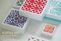 Silhouette Cameo CriCut Vinyl / Organize, decorate, camouflage, recycle and upcycle with vinyl lettering, quotes, stencils, diecutting, stickers.  Containers / by HourGlassGirl Productions