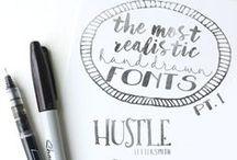 DESIGN  I Fonts / Font / Typo / Polices