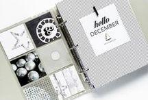 SCRAP I December daily / Scrapbooking / December daily / Mini Album