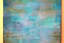 Encaustic. / by Kristen Wilkerson