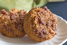 DONUTS and MUFFINS / Muffin recipes, doughnut recipes, scone recipes, donuts -- donut recipes -- easy muffin recipes -- quick muffins --  baked donuts -- mini donuts --