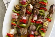 GRILLING RECIPES / Whether you're grilling indoors or outdoors, these recipes are full of great flavor and taste. Recipes for the grill -- grilling recipes -- outdoor grilling -- indoor grilling -- barbecue grilling -- gas grilling recipes -- charcoal grilling recipes