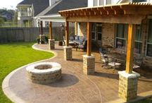 Patio Area/Landscaping