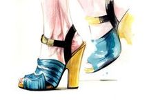 shoes illustrations
