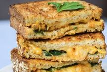 GRILLED CHEESE CELEBRATION / grilled cheese -- grilled cheese sandwiches -- grilled cheese recipes -- extreme grilled cheese -- over the top grilled cheese