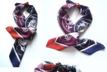 Wearing scarves