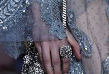 Sequins and brocate