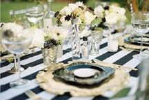 Black and White wedding / by Social Butterfly
