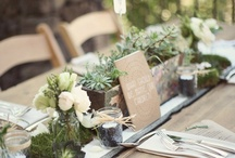 """""""Green"""" wedding / by Social Butterfly"""
