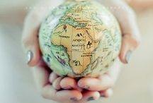 Map / ; Globe, Map pattern...