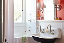 Bathrooms / Bathroom decor and design ideas, mostly for smaller bathrooms. / by Ashley Pahl