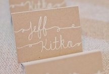 Little Details / Escort cards, seating charts, misc details / by Social Butterfly