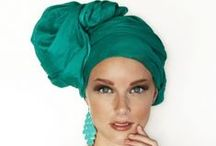 Head Wraps and Scarfs / Scarfs and Hair Wraps / by Patricia Carreker