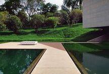 arq  de fora / do lado de fora:  paisagismo jardins fachadas coberturas parques plantas etc