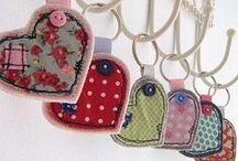 Bookmarks & Key Rings / by Nancy Lewis