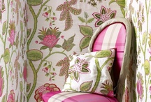 Wallpapers and fabrics