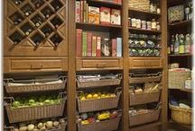 Pantries and butler pantries