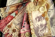 Tags, ATCs, Cards, & Envelopes / by Nancy Lewis