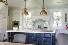 Details-brass accents / trending back to warm tones for hardware and accents