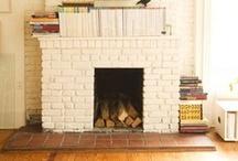 { HOME } fireplace / by Inês Seabra