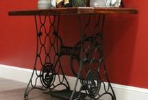 Sewing Machine Tables / by Nancy Lewis