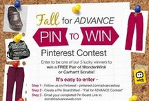 Fall for ADVANCE Contest / Join our newest Fall for ADVANCE contest!  Get started -http://shop.advanceweb.com/ahsp2w_2013lp   / by ADVANCE Healthcare Shop