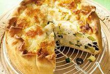 Recepten - Pizza, Quiche & Plaattaart