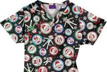 Holiday Scrubs and Gifts / Holiday themed scrubs and gifts! / by ADVANCE Healthcare Shop
