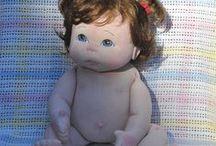 Muñecas 2 soft dolls
