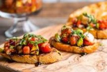 Plant-Strong Appetizers / Great pre-dinner recipes to whip up for your next party or small gathering!