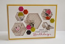 Card Ideas - Hexagons