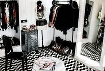 Closet / Vanity and decorating ideas for the closet.