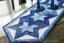 Sewing - Quilted Table Tops & Runners / by Nancy Lewis