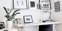 studio / Some inspirational studio decor - great places to be creative.