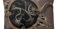 Steampunk Resource Library / Steampunk is an inspirational movement and so full of texture.