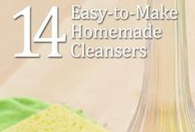 Clean Living / Tips for keeping your home clean