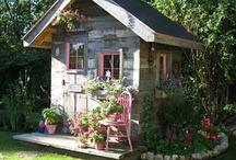 garden sheds / by Clara Sledd