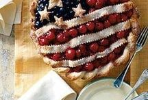 Holidays: 4th of July / Recipes, crafts, home decor, and fun fashions in red, white & blue!