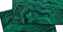 ::EMERALD, JADE & MALACHITE:: / Glimmering deep greens in cool Jade and Emerald tones. Best when they have luminous hilights & rich foresty depths.
