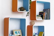 Organize my office in Blues and Oranges!