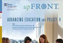 Penn Nursing Magazine / UPfront, the University of Pennsylvania School of Nursing's semi-annual magazine, chronicles the scientific research and leadership of our faculty, students, and alumni. / by Penn Nursing