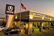 Neil Huffman Acura / Neil Huffman Acura located next to Oxmoor Mall in Louisville, Ky. Where Huffman Has It!