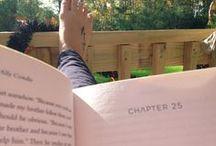 Escape to a book.