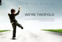 Website & Intranet Ideas / Selection of the best designs for intranet or websites.