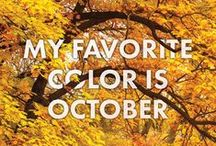 Seasons: Fall / All about fall: Quotes, inspiration, decor, pretty pictures...