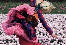 ::FLORIADE:: / Flowers in bold graphic vibrant colour -stylised pop applications, manipulations -