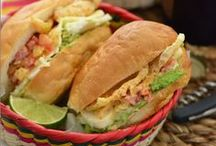 Sandwiches & Tortas / Sandwich recipes & ideas